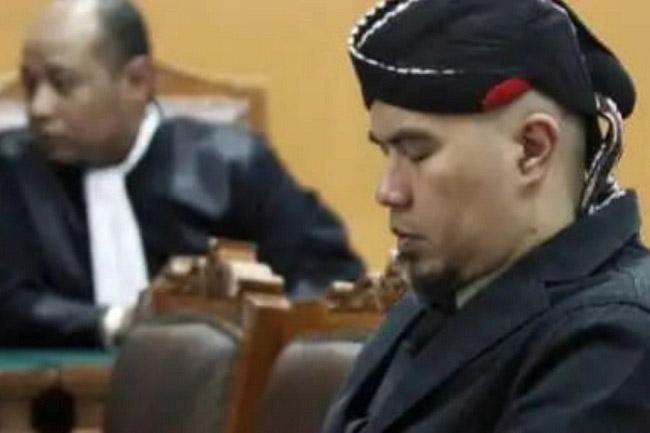 Ujaran Kebencian, Ahmad Dhani Dituntut JPU 2 Tahun Penjara