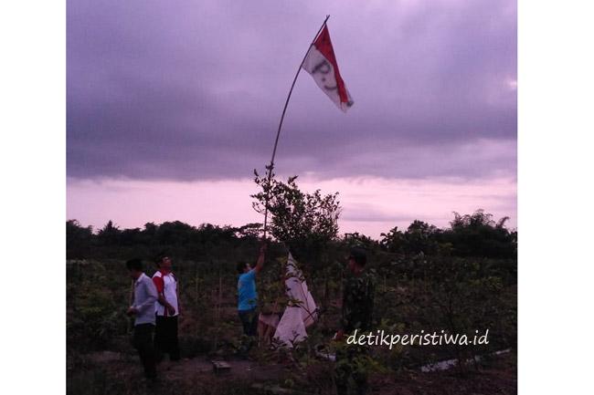 Banyuwangi Heboh, Bendera Merah Putih Ada Tulisan P Joko