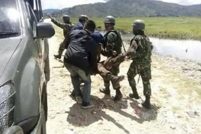 Akibat Penyerangan Pos TNI di Papua, Tujuh Anggota TNI Tertembak