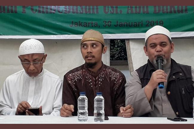 Menteng Raya 58: Ustad ABB Mengamalkan Syariat Islam Berarti Mengamalkan Pancasila