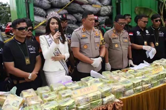 Putri Indonesia Prihatin Maraknya Peredaran Narkoba di Indonesia
