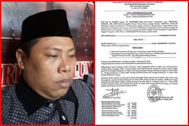 Perintah Pengosongan Oleh Ketua PN Jakpus Itu Tindakan Hukum Yang Brutal