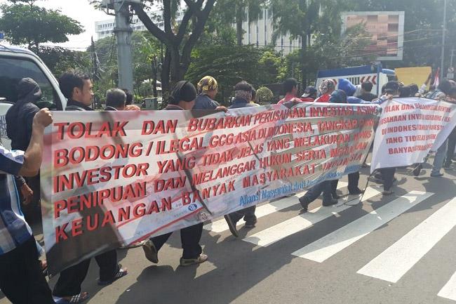 AMAIB: Perusahaan Investasi Bodong GCG Asia Tak Berijin Bappeti dan OJK