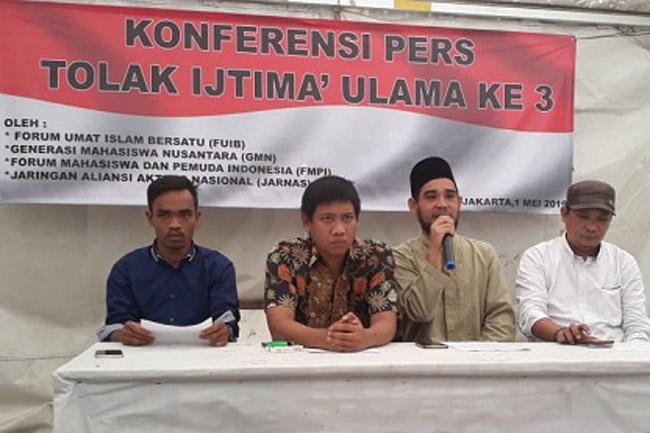 Provokasi Ummat, Sejumlah Ormas Menolak Ijtima Ulama Ketiga