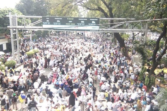 Kapolres Metro Jakarta Pusat: Sebagian Massa Aksi di MK Bukan dari Jakarta