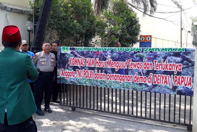 Gerakan Pemuda Jakarta: TNI-Polri Juga Harus Dilindungi HAM