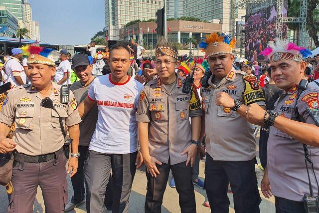Tarian Massal Papua, Papua Adalah Indonesia