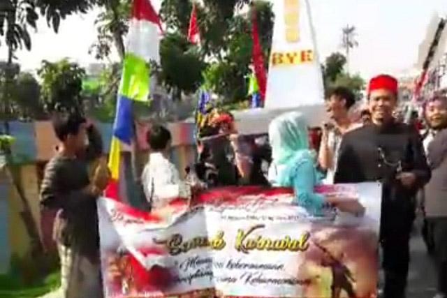 Karnaval HUT RI Warga Utan Panjang Jakarta Pusat