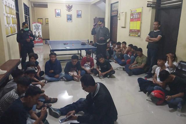 Remaja Hendak Tawuran Diamankan Polsek Johar Baru Jakarta Pusat