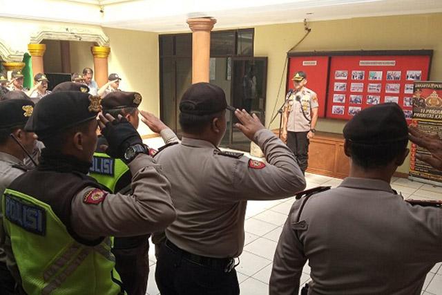 Puluhan Preman Diamankan Operasi Sikat Jaya Polsek Cempaka Putih