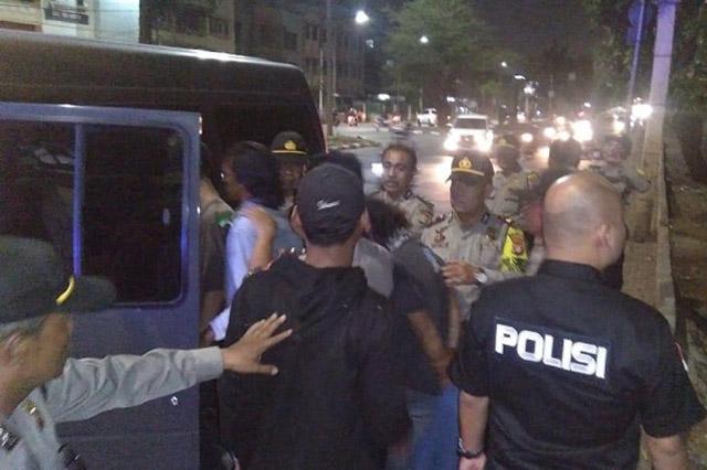 Operasi Premanisme, Polsek Tanjung Duren Amankan Puluhan Preman