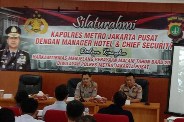 Polres Metro Jakpus Silaturahmi Dengan Manager Hotel